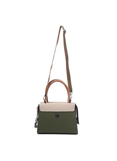 TH Bags   Kadın Omuz Çantası Th-Yk14302 Hak Haki